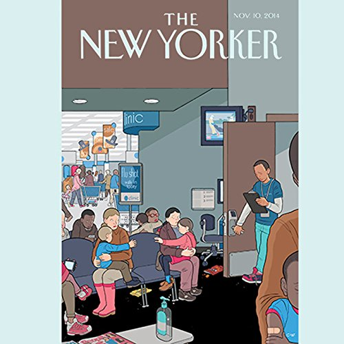 Couverture de The New Yorker, November 10th 2014 (Rachel Aviv, Kelefa Sanneh, Margaret Talbot)