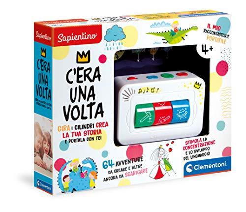 Clementoni - 17410 - Sapientino - C'era Una Volta, racconta storie per bambini 4 anni interattivo, storyteller, gioco educativo elettronico (versione in italiano)