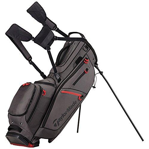 TaylorMade FlexTech CrossOver Golf Bag Gray