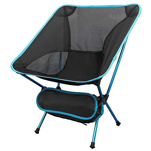 TsunNee Falten Camping Stuhl, Leicht tragbar Stuhl im Freien mit Tragetasche zum Wandern, Picknick, Strand, Backpacking, BBQ, Garten, Angeln