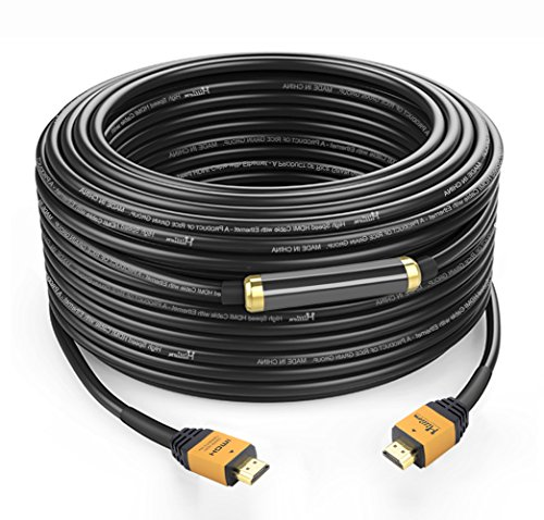 Million HDMI Male to HDMI Male 160 Feet Cable Connector Gold Plated with Ethernet,1080P,3D and Audio Return.Good for DVD,TV,Home Theater,Blu-ray Player…