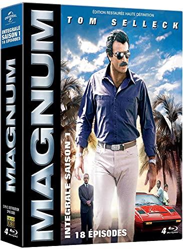 Coffret magnum, saison 1, 18 épisodes [Blu-ray] [FR Import]