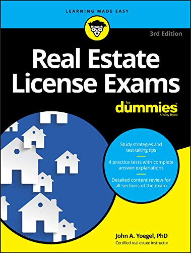 Real Estate License Exams For Dummies with Online Practice Tests (For Dummies (Lifestyle))