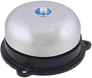 COMOK AC 220V 100mm 4inch Dia Schools Fire Alarm Round Shape Electric Bell UC4-100
