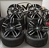 4 x 18 Zoll Wheelworld WH29 Alu Felgen 8,5x18 5x120 ET35 schwarz poliert für 3er E36 E46 E90 E91 E92 E93 F30 F31 F34 4er F32 F33 F36 M4 335 435 M-Paket M-Performance CSL NEU