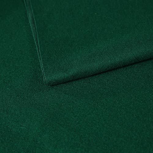 MetaBall biljart doek zwembad tafel vilt voor maat 6, 7 of 8 voet, kleur donker inkt groen