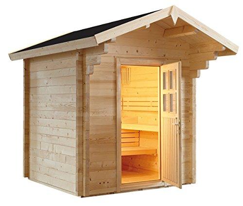 VB Italia Sauna Finlandese Svezia per 6 Persone da Esterno