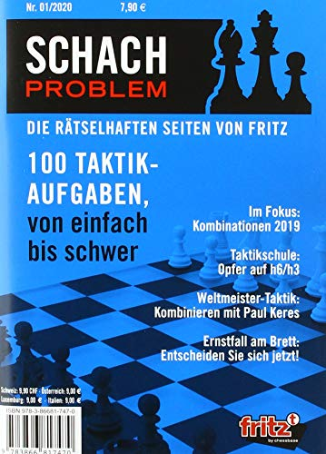 Schach Problem Heft #01/2020: Die rätselhaften Seiten von Fritz