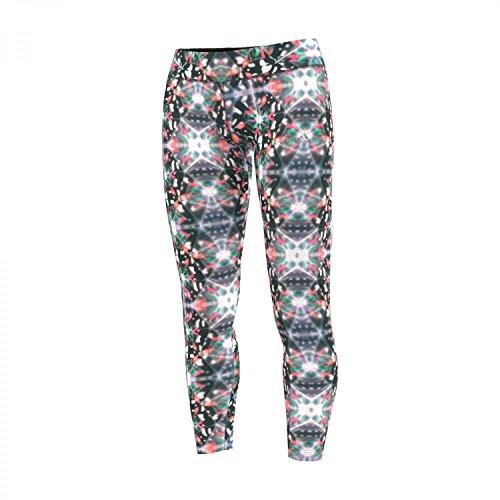 adidas Ultimate Fit broek dames bedrukte slipjes, zwart/roze/groen, M