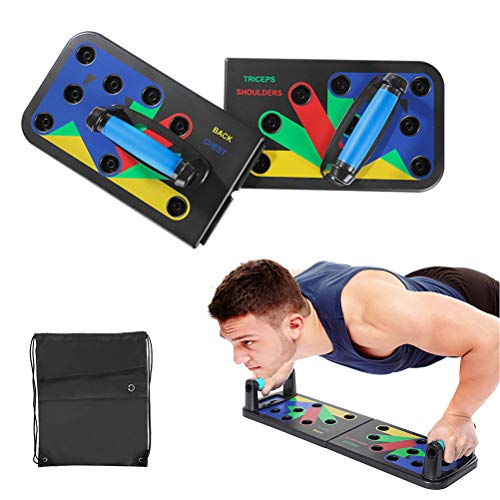 Kastma Push Up Board Push Up Bracket Board Flexiones Plegables Empuñaduras de Tablero Entrenamiento…