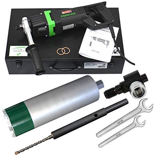 Eibenstock EHD1801 Kernbohrgerät inklusive Diamantbohrkrone NL 400, Staubabsaugung & Zentrierbohrer