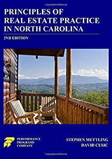 Principles of Real Estate Practice in North Carolina: 2nd Edition