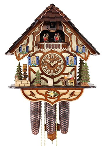 Adolf Herr Cuckoo Clock - The Jolly Beer Drinker