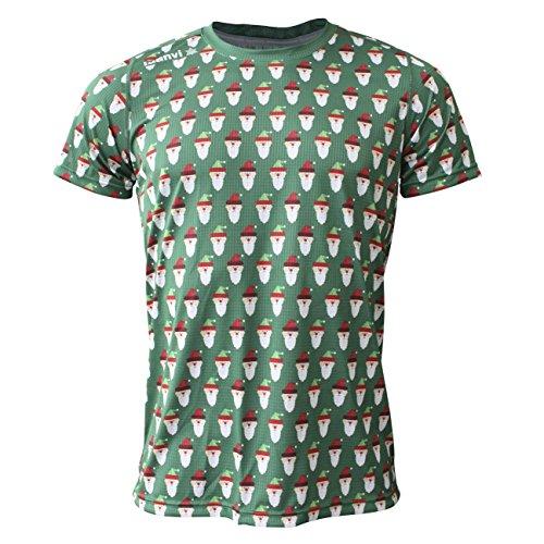 Luanvi Edición Limitada Camiseta técnica papá Noel, Hombre, Rojo, XL (56-73cm)