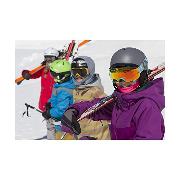 BLACKSTRAP Kids The Hood Dual Layer Cold Weather Neck Gaiter and Warmer for Children, Snow Issue
