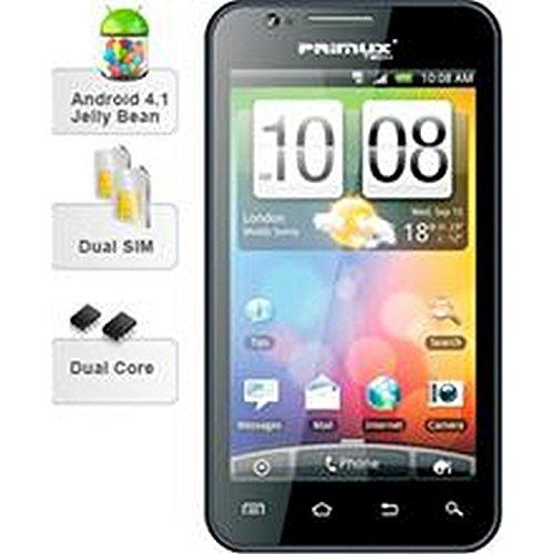 Primux Omega - Teléfono movil con pantalla 5' capacitiva, android 4.1, CPU 1Ghz, cámara digital de 5 Mpx, cámara secundaria de 1,3 Mpx