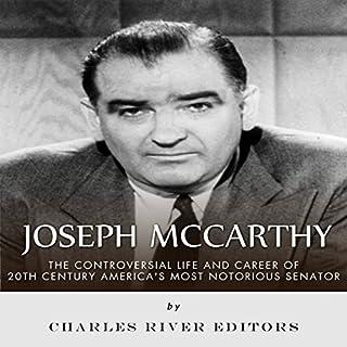 Joseph McCarthy audiobook cover art