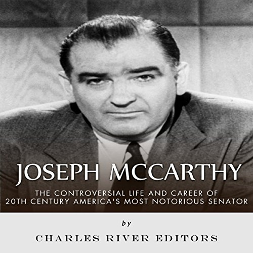 Joseph McCarthy audiobook cover art
