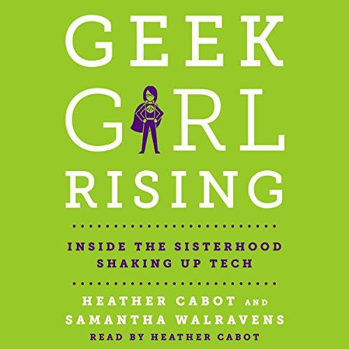 Geek Girl Rising audiobook cover art