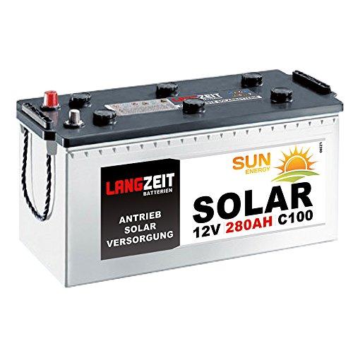 Solarbatterie 280Ah 12V Wohnmobil Boot Wohnwagen Camping Schiff Batterie Solar 230Ah 250Ah