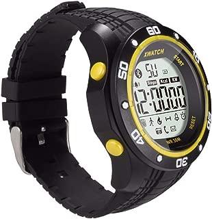 Waterproof Smart Watch - Outdoor Sport Smart Bracelet Night Visible Pedometer Sleep Monitor Function (Black)
