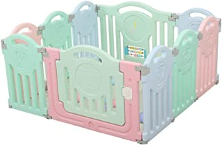 Xuan Yuan Protective Fence Home Use Safety Fence Children's Game Fence Baby Indoor Learning Walk Railing Baby Play Fence (Size : 113 * 113cm)