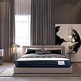 Lisabed Flex | Colchón Viscoconfort Relax 135 x 190 cm | Viscoelástico Alta Densidad | Reversible (Invierno/Verano) | Gama Grand Confort | 19 cm (+/- 2 cm)