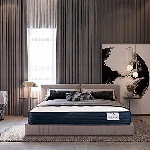 Lisabed Flex | Materasso ViscoComfort Relax 150 x 190 cm | Viscoelastico ad alta densità | Reversibile (Inverno/Estate) | Gamma Grand Comfort | 18 cm