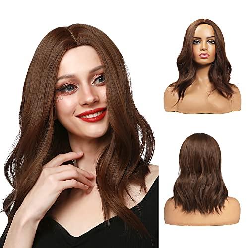 comprar pelucas marron corto por internet