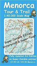 Menorca Super-Durable Tour and Trail Map