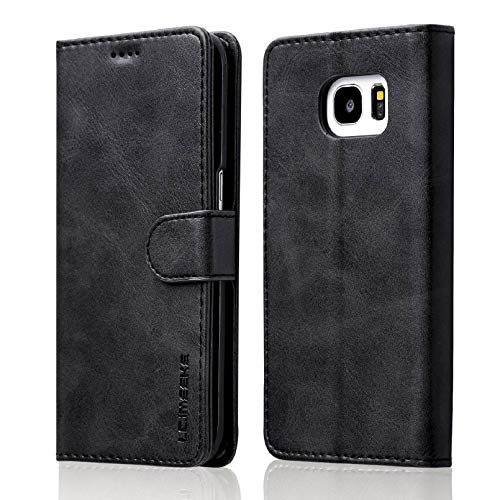 ZTOFERA Leather Case for Samsung Galaxy S7 Edge,Ultra Slim [Magnetic...
