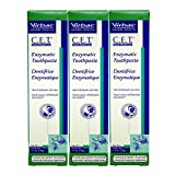Virbac Dental Chews CET103-3 Vanilla-Mint Toothpaste (3 Pack), 2.5 oz