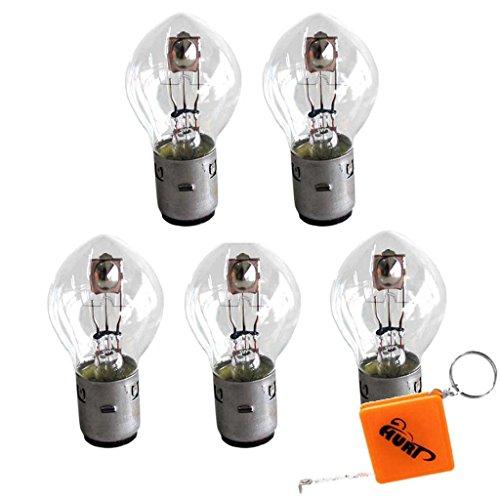 HURI 5X Bilux Biluxbirne Lampe S2 12V 35/35W BA20D Glühlampe KFZ Speziallampe OVP/NEU
