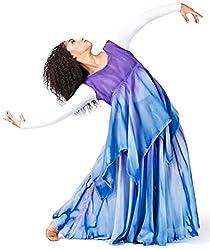 Watercolour Women's Hand Painted Worship Handkerchief Dress WC104