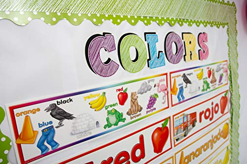 Teacher Created Resources Colors Headliners (4482),Multi Color Photo #2