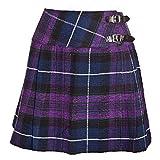 New diseño con Bandera de Escocia Traje de Neopreno para Mujer Mini diseño de Cuadros Scottish Pride of Billie tamaños para Falda Escocesa Falda 8-18