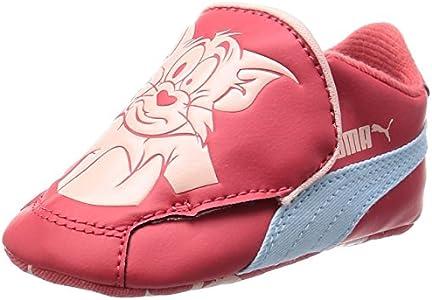 Puma CRIB PACK TOM ET JERRY 2 Zapatillas Sneakers Rosa para Bebe