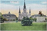 Romance-and-Beauty Lafayette, Louisiane - Let The Good Times Roll - Flag (Jigsaw Puzzle for Adults) 500 pièces