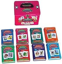 Super Duper Publications Set of 8 Webber Illustrated Phonology Flash Card Fun Decks Educational Learning Resource for Kids