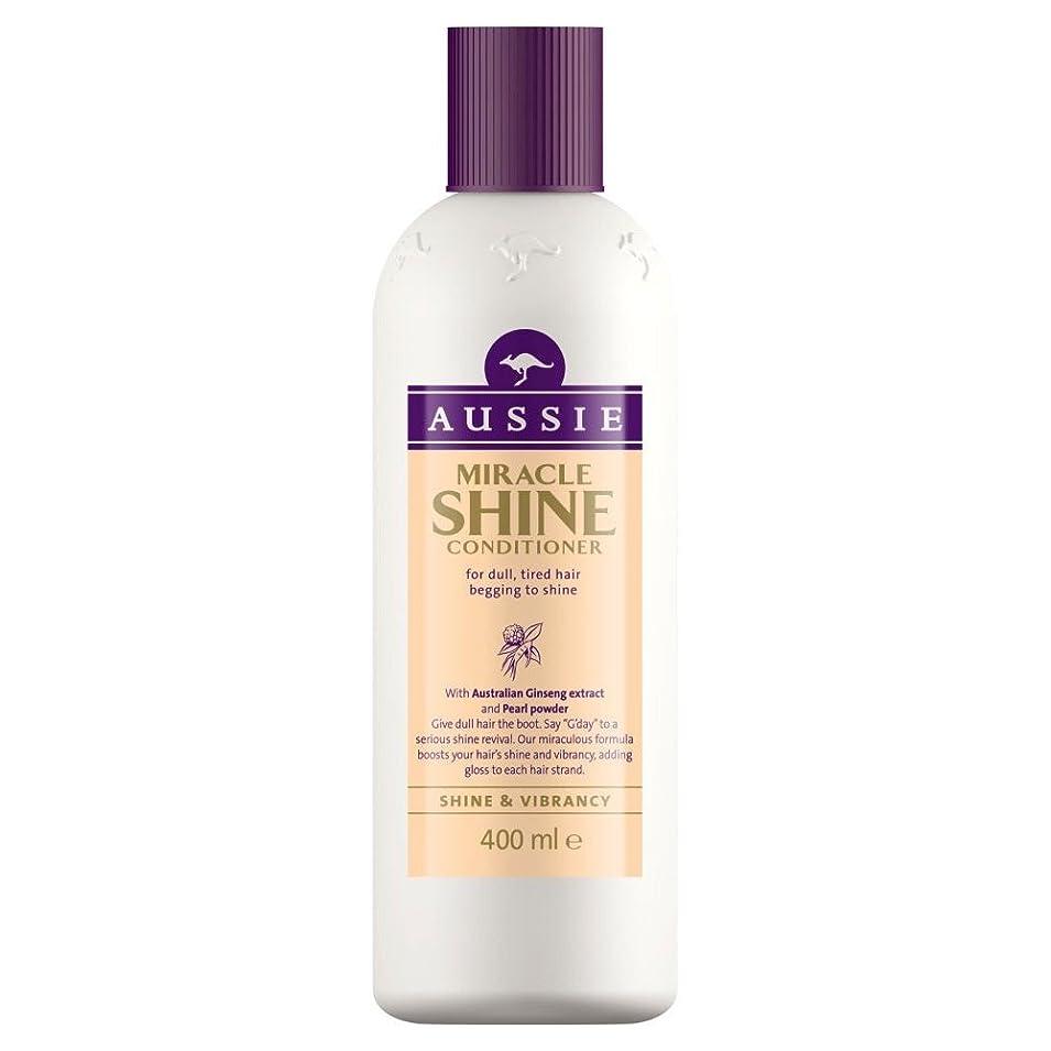 七時半砦ブリリアントAussie Miracle Shine Conditioner (400ml) オージー奇跡のシャインコンディショナー( 400ミリリットル) [並行輸入品]