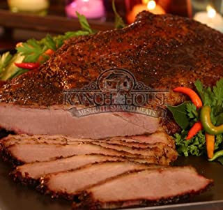 RANCH HOUSE MEAT COMPANY, MESQUITE SMOKED BEEF BRISKET, WHOLE - 4 LBS, FULLY SMOKED