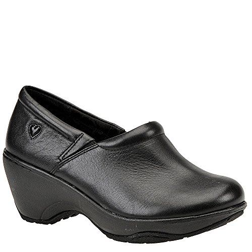 Nurse Mates Women's Bryar, Black, 8 D - Wide