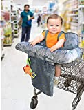 Little Me Baby 2 in 1 Shopping Cart and High Chair Cover, Dino