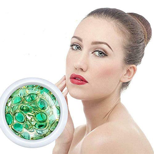 ZJXAM 28pcs/bottles Ceramide Repair Face Serum, Capsule Essence Shrink Pores Facial, Serum Moisturizing White Essence, Facial Serum with Plant Extracts, Fix Wrinkle & Pore Vanisher