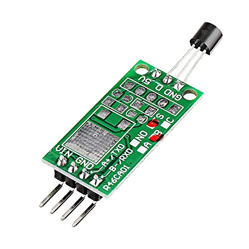 Sensor & Detektor Modul 3pcs DS18B20 12V RS485 Com UART Temperaturerfassungssensor-Modul Modbus RTU PC PLC MCU Digital Thermometer