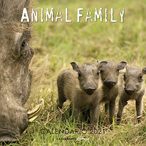 Calendario Animal family 2021 (Calendarios y agendas)