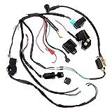 NB YULUBAIHUO Las eléctricas arnés de cableado Telar CDI Bobina Accesorios en Forma for el ATV Quad 50 70 90 110CC eléctrico Quad Moto Kit