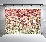 AIIKES 8x6FT Mariage Fleurs Photographie Arrière-Plans Fleur Cérémonie Fleur Mur Bébé Fête d'anniversaire Enfant Photographie Décors Photo Studio 10-938
