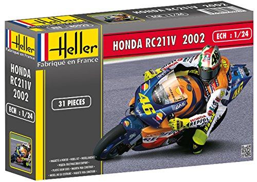 Heller 80923 - Modellino da Costruire, Honda Rc211 V, Scala 1:24 [Importato da Francia]