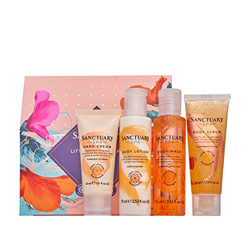 Sanctuary Spa Little Spa Retreat Bodycare Gift Set for Women, For Birthday, Christmas, Vegan and Cruelty Free